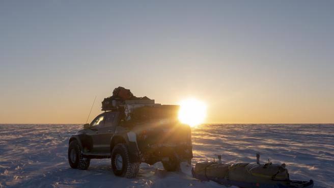 Le gomme da neve? Il test (5.000 km) è un'avventura in Groenlandia