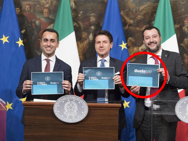 Il bivio di Salvini e Di Maio(e la foto con i cartelli dive