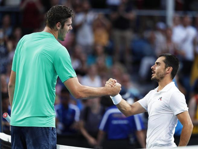 Tennis, Fabbiano: «Così ho battuto il gigante Opelka e i  suoi 67 ace»
