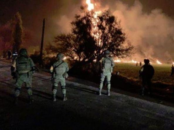 Messico: esplode oleodotto, 20 morti
