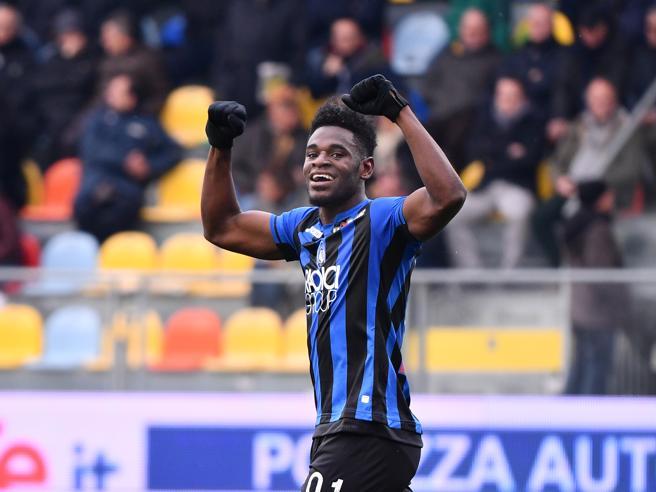 Frosinone-Atalanta 0-5: Zapata indovina la quaterna e vince da solo la partita
