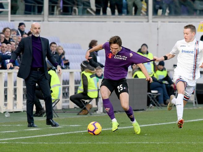 Fiorentina-Sampdoria 3-3: Quagliarella non basta, Pezzella trova il pari al 93'