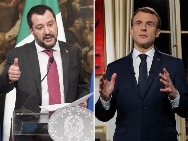 Migranti, anche Salvini contro la Francia: «In Africa per s
