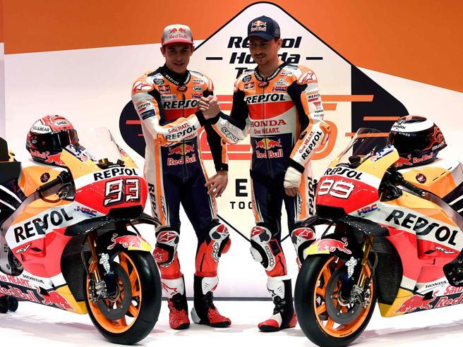 MotoGp, la nuova Honda 2019con Marquez e Lorenzo