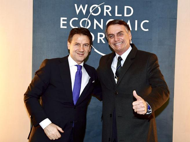 Conte at WEF calls for a 'Europe of the people'