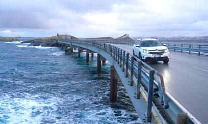 A Capo Nord con la C5 Aircross