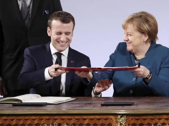 L&rsquo; <span class='titoloblu'>egemonia</span> europea di Francia e Germania