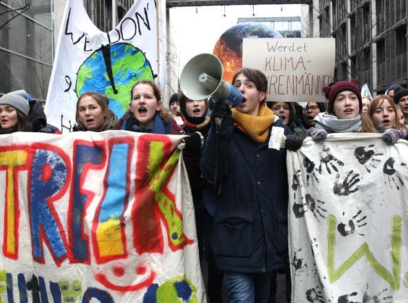 I giovani si mobilitano per il clima