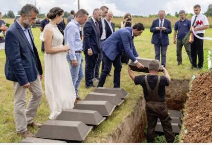 Russia, la fossa comune con i dispersi italiani a Kirov