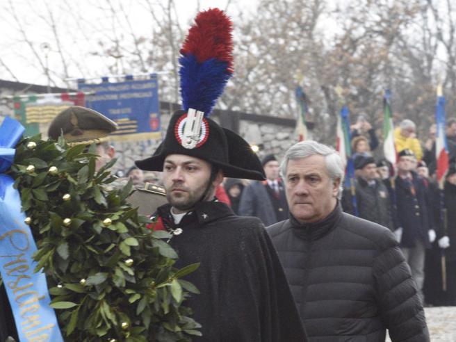 Foibe, Slovenia e Croazia contro  Tajani per la frase su  «Istria e Dalmazia italiane»Lui: «Parlavo delle vittime»