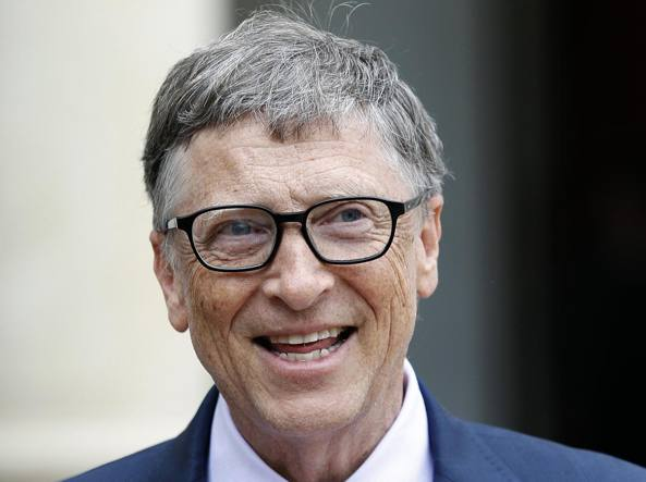 Bill Gates (Getty Images/Archivio Corriere)
