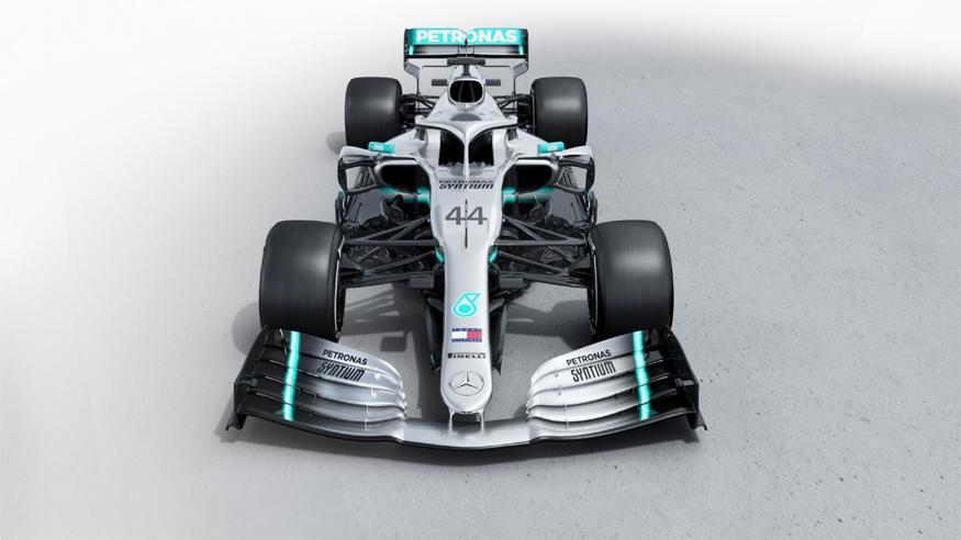 Formula 1, ecco la nuova Mercedes W10 di Hamilton e Bottas