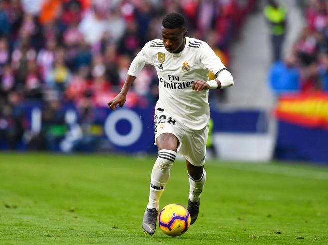 Non solo Zaniolo: stasera tocca a Vinicius Junior, erede di Ronaldo al Real Madrid e più potente di Neymar