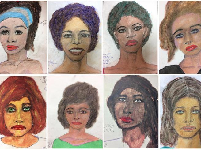 Usa, il serial killer che disegna le vittime: «Sono 90 donne»I profili  realizzati in cella