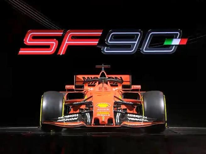 Ferrari 2019, ecco la SF90 la nuova vettura di quest'anno