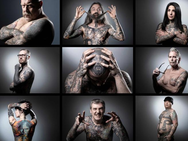L'inchiostro sulla pelle: i tatuaggi più spettacolari alla convention mondiale di Parigi