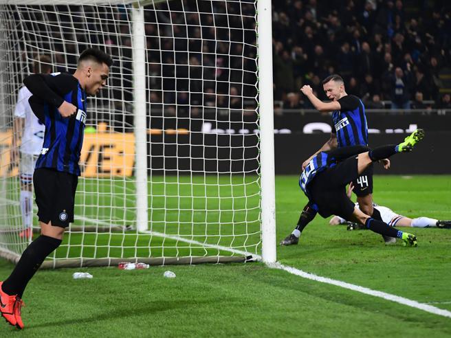Inter batte la Samp 2 1 e porta a casa tre punti importanti