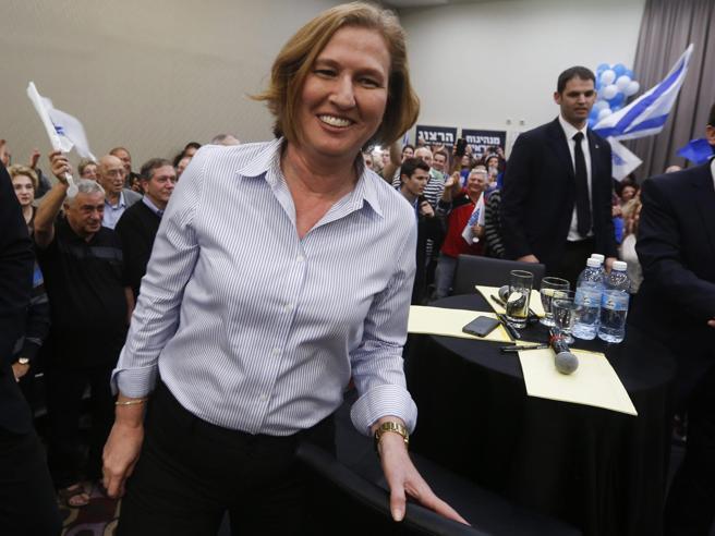 Tzipi Livni lascia la politica: «Ma non abbandono la speranza di pace»