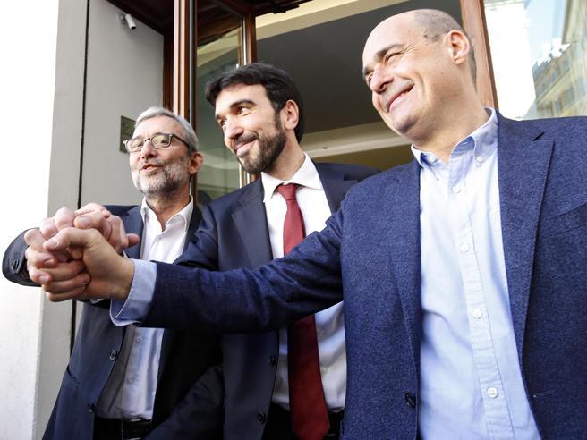 Primarie Pd Le Pagelle Del Confronto Tv I Tre Candidati Divisi