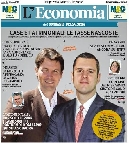 La patrimoniale c gi e vale 46 miliardi di euro l economia in edicola gratis - Patrimoniale sulla casa ...