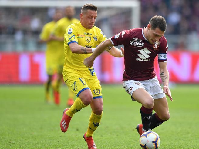 Torino-Chievo 3-0, i granata accelerano verso l'Europa