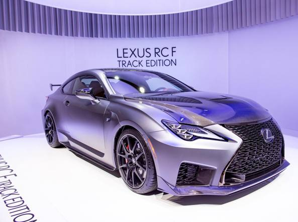 Lexus RC F Track edition versione superaerodinamica