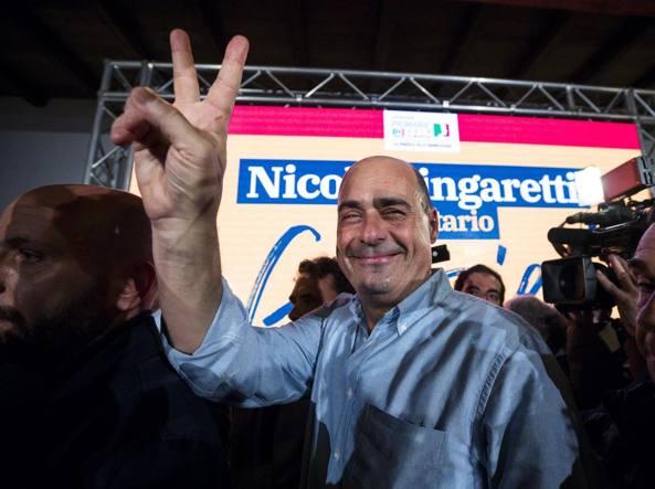 Il neosegretario del Pd, Nicola Zingaretti (Ansa)