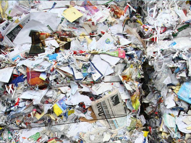 Italia leader nel mondo per il riciclo di carta e cartone: 3,3 milioni di tonnellate