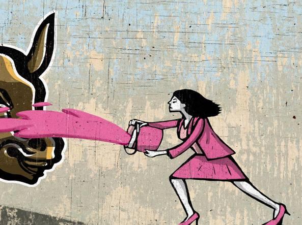 Disegno Sulla Violenza Sulle Donne.Violenza Sulle Donne Ignoriamo Gli Insulti Corriere It