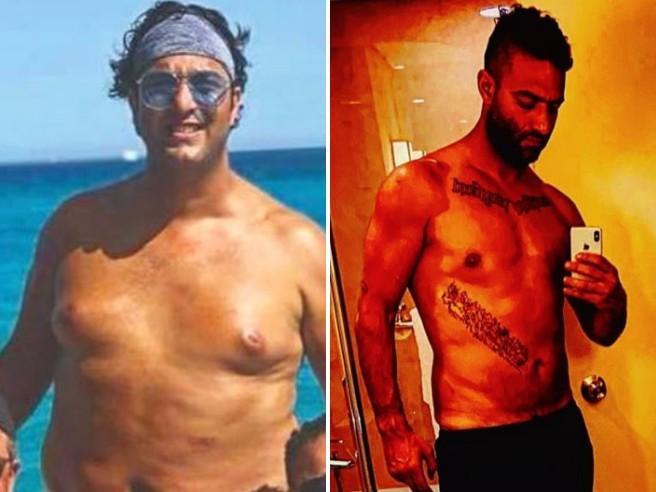 """La doppia trasformazione di Mido, perde 50 chili in un anno e """"torna"""" in forma"""