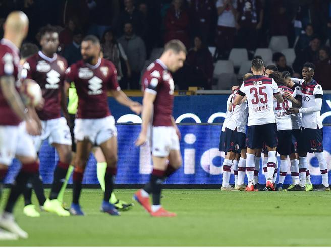 Torino-Bologna 2-3: Mihajlovic si vendica con Poli, Pulgar e Orsolini