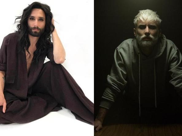 Conchita Wurst, la svolta androgina: ora ha capelli corti e barba incolta