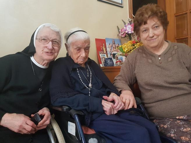 Nonna Peppa ha 116 anni: è la donna  più anziana in Europa