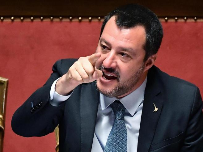 Diciotti, Salvini in Senato:   no all'autorizzazione a procedere«Nessuno  morirà  in mare»