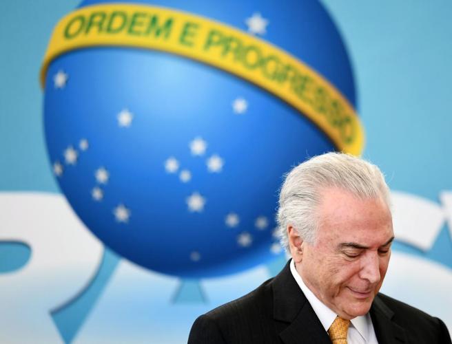 In Brasile dopo Lula anche l'ex presidente Temer arrestato