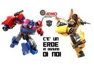«C'è un Eroe in ognuno di noi»: Transformers in campo per la donazione di midollo