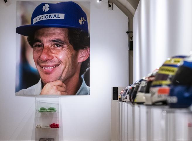 F1, ad Asti apre la mostra dedicata ad Ayrton Senna