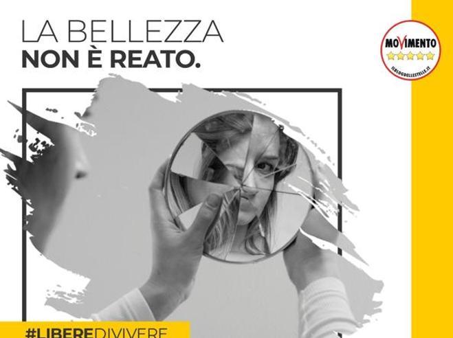 Codice rosso,  campagna social del M5S contro la violenza sulle donne
