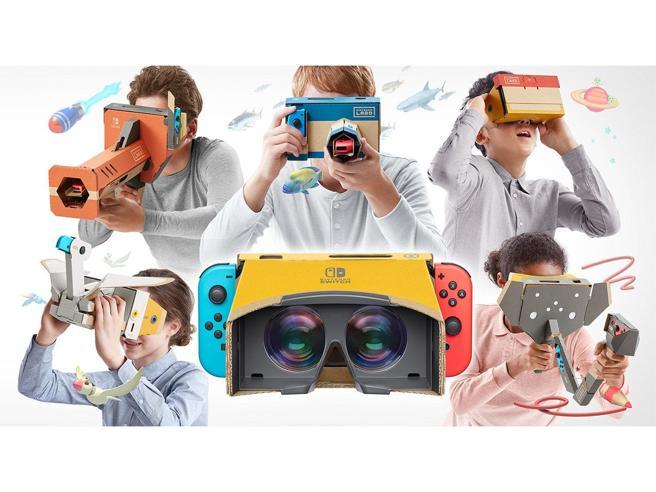 Nintendo Labo: VR Kit, la realtà virtuale pensata per i più piccoli