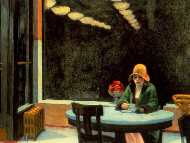 Edward Hopper, i suoi quadriin un thriller per bambini Tavole