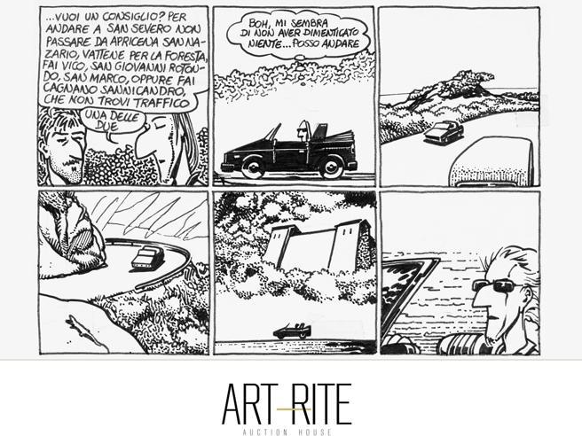 Comic Art, a Milano l'asta dei fumetti