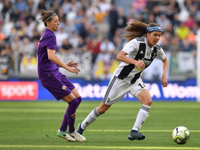 Torino, alla Juventus la sfida per lo scudetto donne: 1-0 alla Fiorentina
