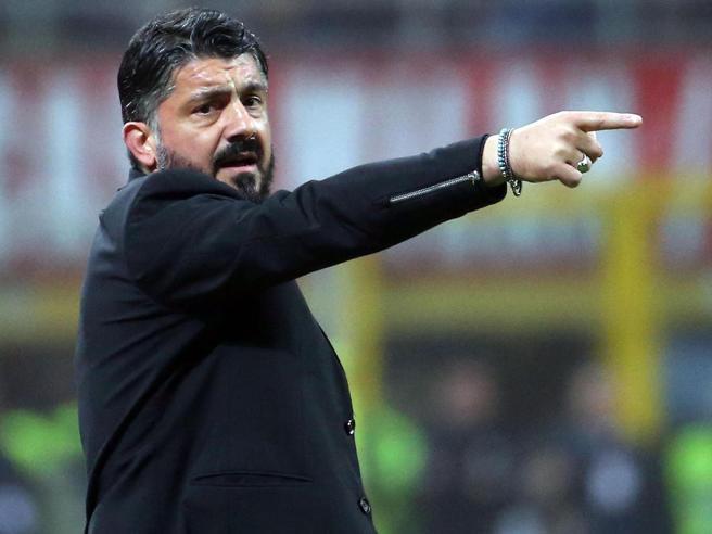 Juventus-Milan, Gattuso:«È la partita giusta per fare un'impresa»
