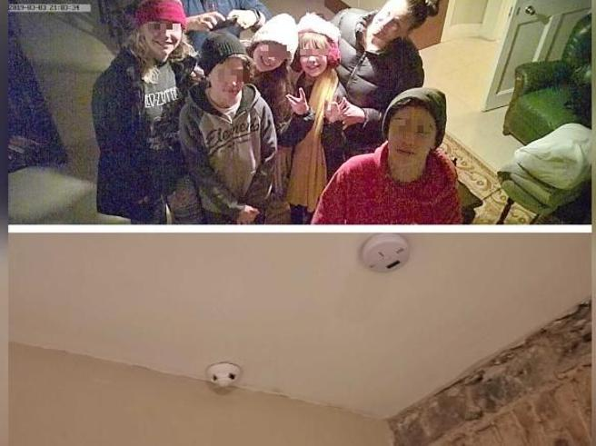 Telecamera Nascosta In Oggetti : Famiglia affitta una casa su airbnb e scopre una telecamera