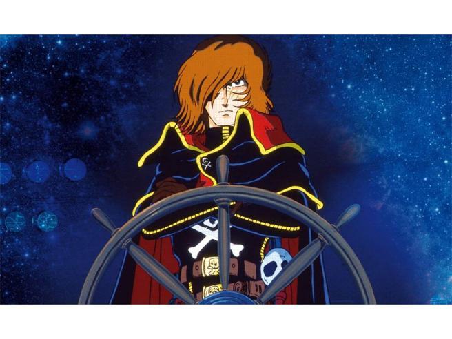 A anni dalla prima puntata in italia di capitan harlock ecco