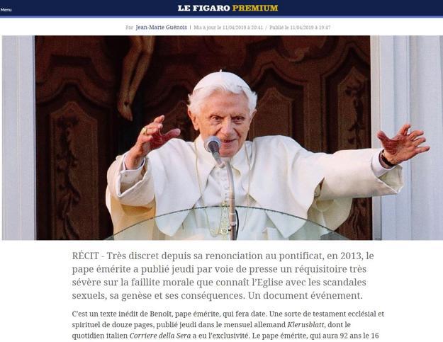 Ratzinger, gli appunti del Papa emerito fanno il giro del mondo