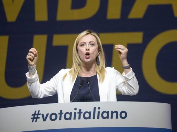 Giorgia Meloni, presidente di Fratelli d'Italia (LaPresse)