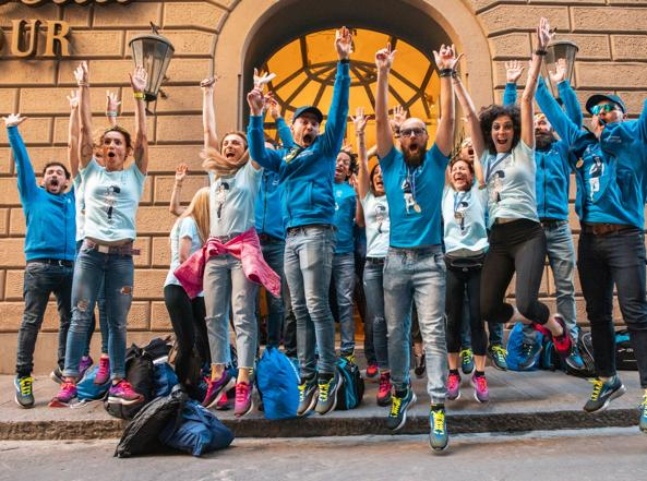 Brooks Run Happy Team, la squadra che corre per divertirsi
