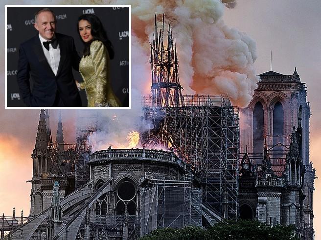 Il miliardario Francois-Henri Pinault dona 100 milioni per ricostruire la cattedrale