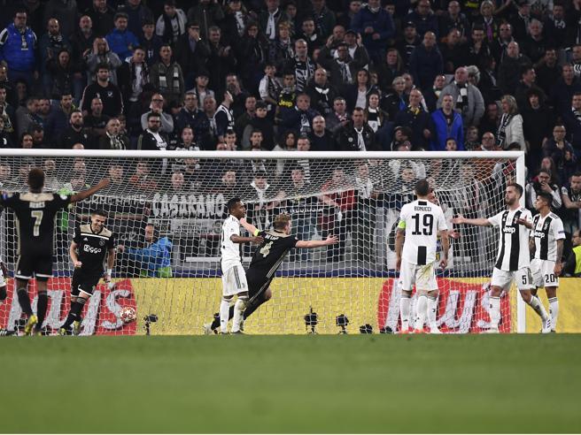 Juve-Ajax 1-2: De Ligt spegne i sogni bianconeri, olandesi in semifinale